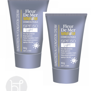Fleur De Mer Tinted foundation light